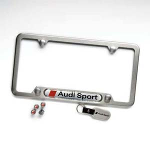 2014 Audi RS5 License Plate Frame Kit - Audi Sport Logo ZAW-355-040-A