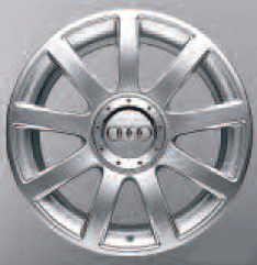 2003 Audi TT 18 inch - 9 Spoke Alloy Wheel 8N0-601-025-S-1H7