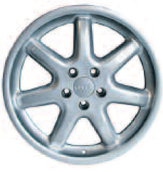 2003 Audi A8 18 inch Alloy Wheel RO48 - Seven Spoke 4D0-601-025-F-Z17