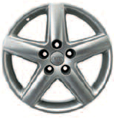 2003 Audi A4 17 inch 5 Spoke Alloy Wheel 8E0-601-025-E-Z17