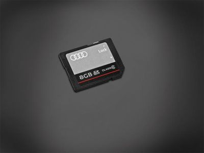 2014 Audi RS7 Memory Card - 8GB SDHC 8R0-063-827-F