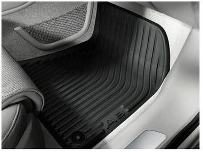 2016 Audi S8 All-Weather Floor Mats - Front