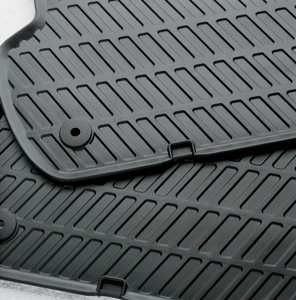 2011 Audi A8 All-Weather Mats - Rear