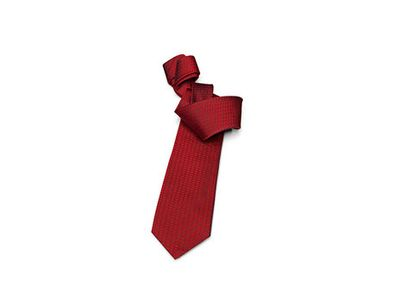 All Audi Personal Accessories Silk Woven Tie - Red ACM-A79-9RE-D