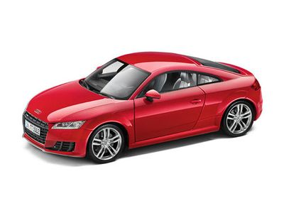 All Audi Personal Accessories Audi TT Coupe 1-18 Scale M ACM-C20-0RE-D