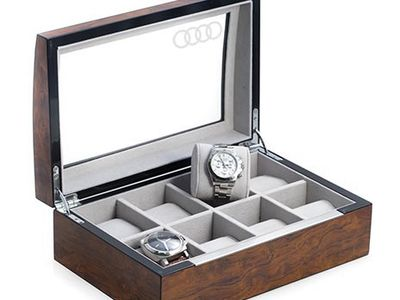 All Audi Personal Accessories Burl Watch Case ACM-H60-0