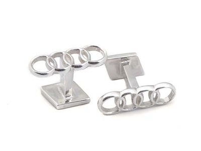 All Audi Personal Accessories Reversible Cufflinks ACM-J69-6