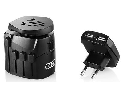 All Audi Personal Accessories Travel Adapter ACM-M99-9