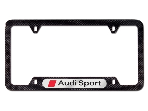 2014 Audi RS5 Audi Sport License Plate Frame - Carbon Fi 8K0-071-801-A