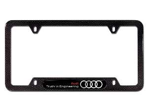 2012 Audi R8 Truth in Engineering License Plate Frame -  8K0-071-801-B
