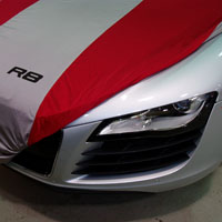 2012 Audi R8 Car Cover Satin Stretch - Indoor ZAW-400-150-RD