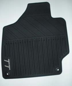 2008 Audi TT All-Weather Rubber Mats - Black Front 8J1-061-520-041