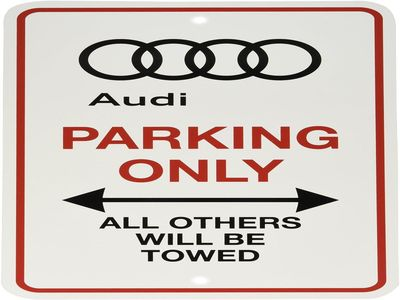 2014 Audi S8 Audi Parking Only sign Z-AUS-002
