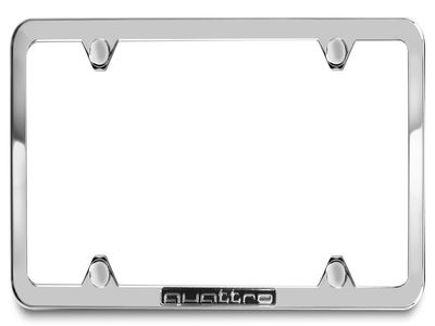 2015 Audi RS5 License plate frame with quattro logo  ZAW-071-801-J-Z10