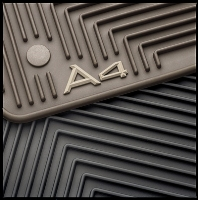 2000 Audi A4 All-Weather Rubber Mats ZAW-179-001-A-BLK