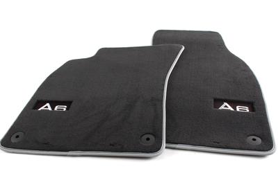 AUDI Genuine 4B0061601A2LP Front Premium Textile Floor Mat