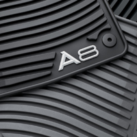 2008 Audi A8 All-Weather Rubber Mats (Set of 4) ZAW-179-011-GRY