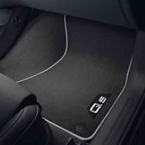 2011 Audi Q5 Carpeted Mat -Rear 8R0-061-276-MNO