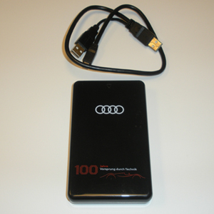 2009 Audi Q5 250 Gb- 100 Years of Audi Hard Drive 8R0-063-827