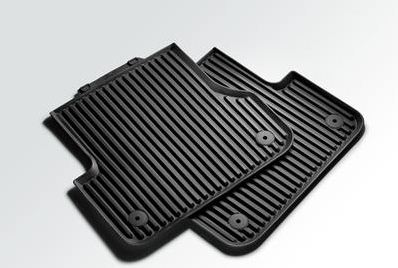 2016 Audi A7 All Weather Floor Mats Rear 4G0-061-511-041