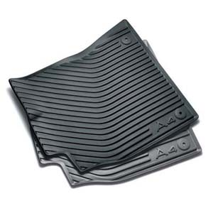2009 audi a4 all weather rubber mats front 8k1 061 501 041. Black Bedroom Furniture Sets. Home Design Ideas