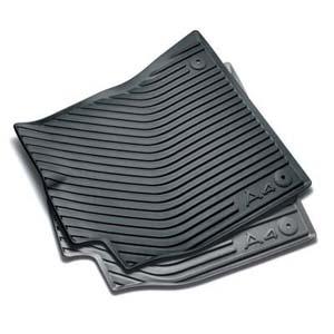 2009 audi a4 all weather rubber mats front 8k1 061 501 041. Black Bedroom Furniture Sets. Home Design Ideas