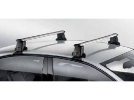 2014 Audi A4 Roof Bars - Silver - Black 8K5-071-126-A