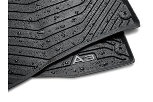 2016 Audi A3 All-Weather Floor Mats (Rear) 8V5-061-512-041