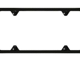 2016 Audi SQ5 Slim Line License Plate Frame - Carbon Fib ZAW-071-801-A