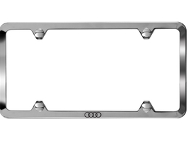 2017 Audi S8 Slim Line License Plate Frame - Polished ZAW-071-801-B
