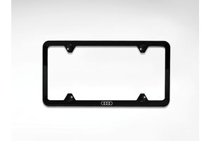 2014 Audi RS5 Slim Line License Plate Frame - Black ZAW-071-801-C