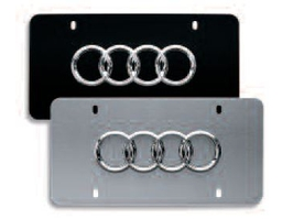 2014 Audi RS7 Front Vanity Plate - Brushed Stainless ZAW-355-023
