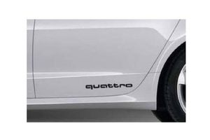 2016 Audi A4 Quattro Decal