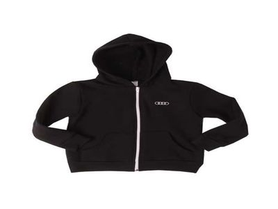 All Audi Personal Accessories Full Zip Hood - Infant - Black